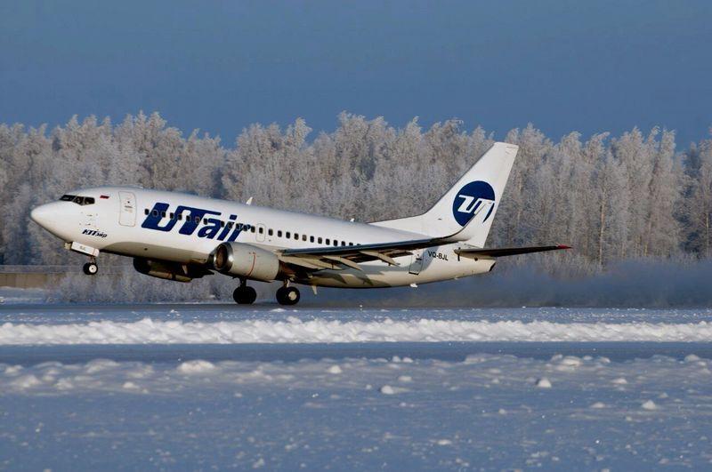 Snow Winter Aviation Boeing Boeing 737 Russia Utair Cold Airplane Plane