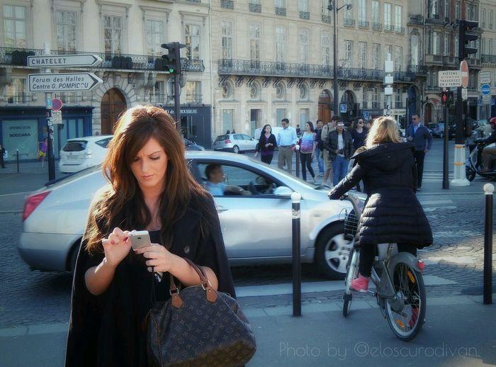 Paris et l'amour. Paris Femme