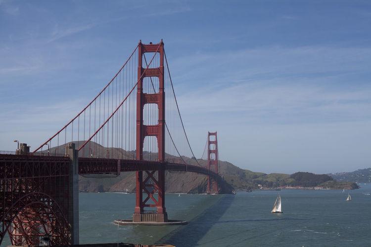 Golden Gate Bridge Over Bay