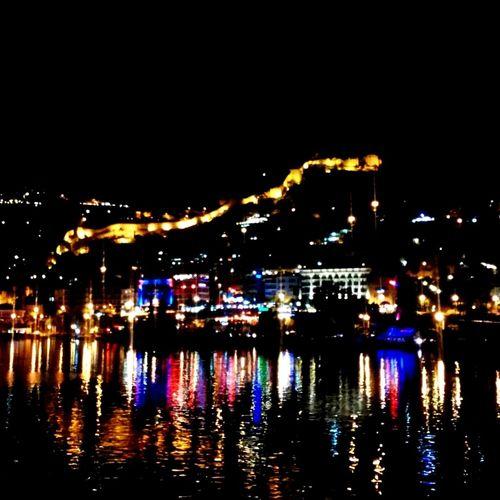 Night City Cityscape Alanya Alanya/Turkey Yahtclub