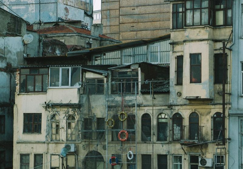 Architecture Karaköy Floating Floating Ring Sea Buoy Buoy Istanbul Turkey Architectural Detail Cozy