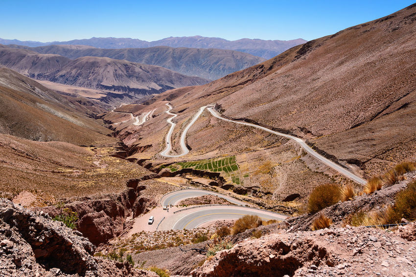 Curves of ruta 52 from Purmamarca to Salinas Grandes (Argentina) 52 America Andes Argentina Asphalt Canyon Countryside Curves Drive Grandes Jujuy Landscape Nature Outdoors Path Purmamarca Road Route Ruta Ruta52 Salinas Scenics Touring