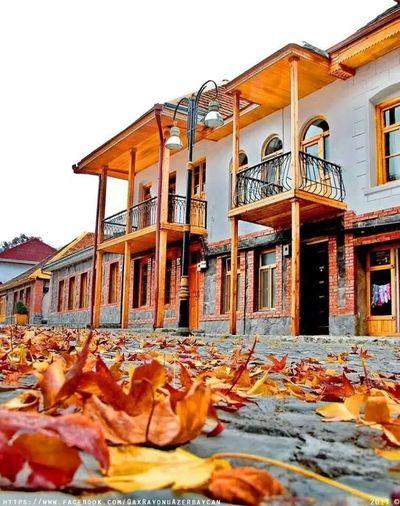 Azerbaijan.gakh.ıçeri Bazar St autumn