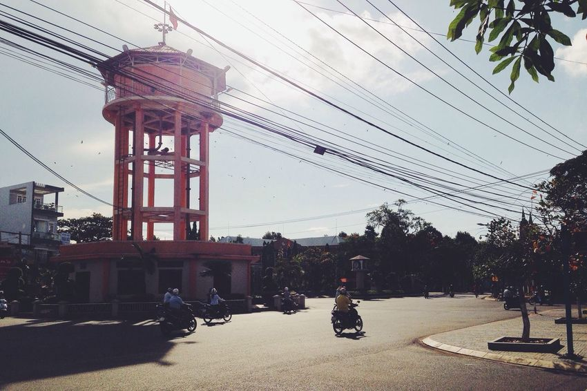 Enjoying The Sun On The Road Vscocam Vietnam