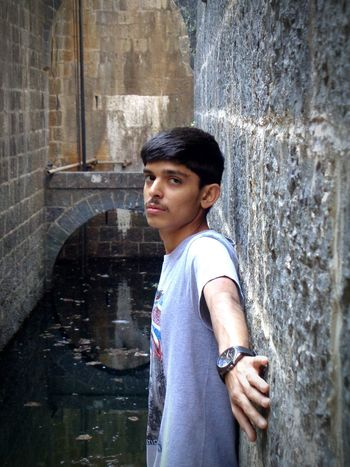 One Person Leaning Outdoors Standing Day Young Adult Young Women People Adults Only Adult Stepwell Young India Gujarat Low Light Romantic Sexy Hot First Eyeem Photo Boy Man asian Asianstreetpoet Asain Boy Water
