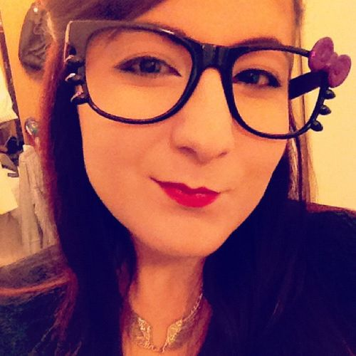About to set off to Hyperjapan and bought these Cute Hellokitty Glasses for the occasion.