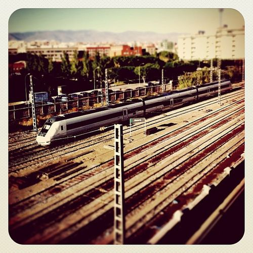 Tiltshift Almería Tren 30likes 20likes Renfe Estación