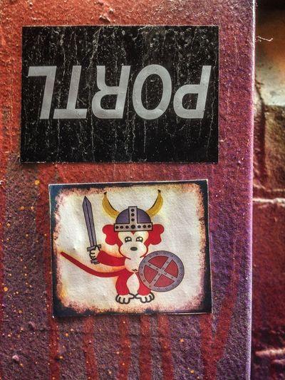 Streetart sticker