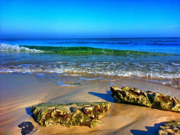 Aljubail Beach Sea And Sky