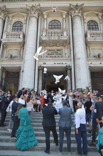 Chiesa Matrimonio Colombe Colombi Festa Sposi Wedding Wedding Photography