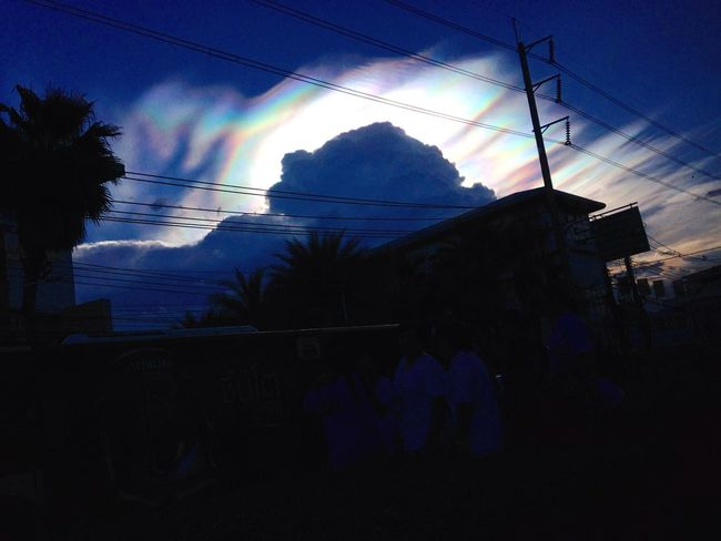 Rainbow sky Sky And Clouds Clouds Sky Rainbow Rainbow Sky Nacreous Clouds Nacreous