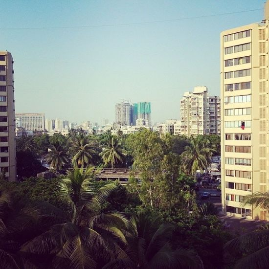 Morning View from my windowMumbai Versova  Lovelyplace