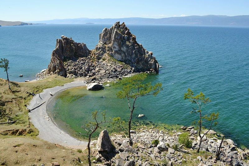 Baikal Nature Beauty In Nature Landscape EyeEmNewHere Wide Russia Travel Mountain Lake Baikal Shamanka Rock