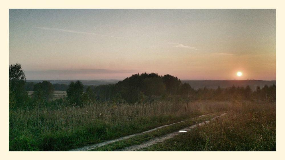 Закат в Жеребцово
