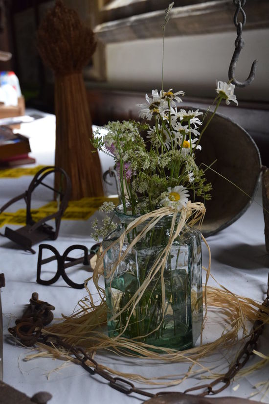 Artifacts Artifacts Of Ranching & Farming Community Living Festival Display Flower Arrangement Historical Building Houseplant Indoors  Mummers Parade No People Village Church