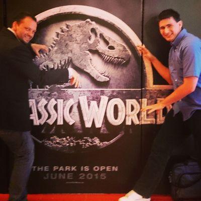 Túléltük! :-D Jó volt! Ajánlom mindenkinek. Cinema Cinemacity Budapest Hungary Arena Arenaplaza Jurassicworld Jw JP MOVIE Dino TRex  Ig Ighun Instamemories Instamovie