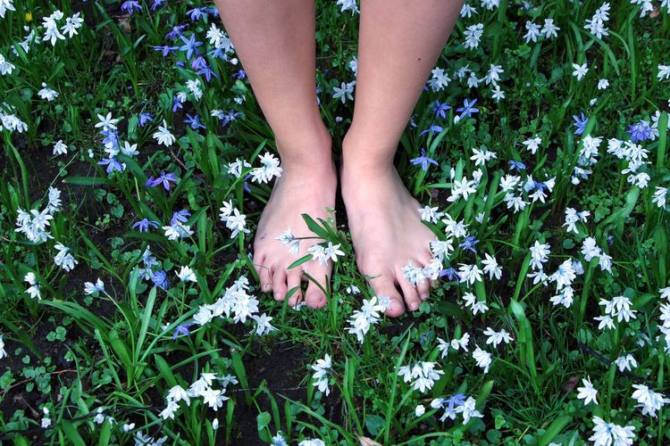 Things I like, barefoot on the meadow. Things I Like Nature Springtime Spring Flowers Colors Urban Spring Fever Natures Diversities Colors Of Life Citypark Fürth. Germany.