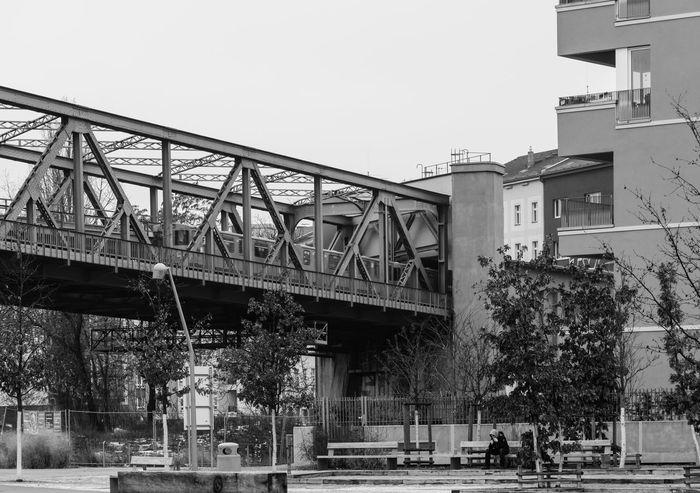 Architecture Architecture Berlin Bridge - Man Made Structure Built Structure City Life Day Kreuzberg Mendelssohn-bartholdy Parc Outdoors Park Railway Bridge Winter