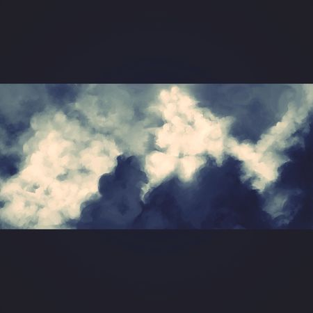 Clouds Art Digital Art Flooder 2013 artwork.