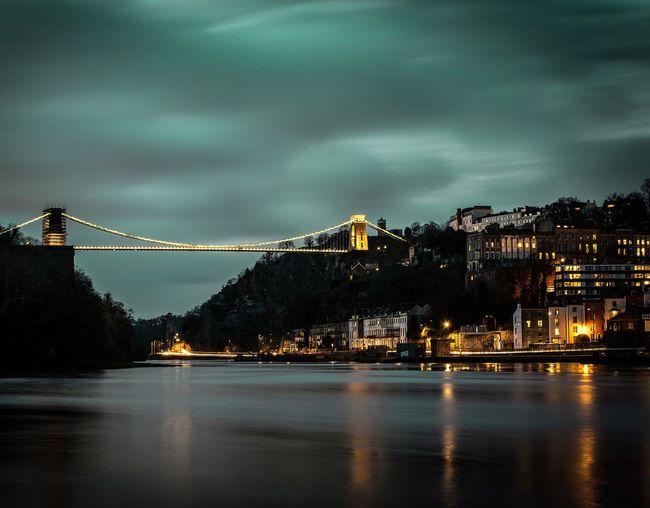 Suspension Bridge Bridges Check This Out EyeEm Best Shots Reflection Long Exposure Bristol
