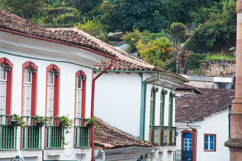 View of residential buildings at ouro preto