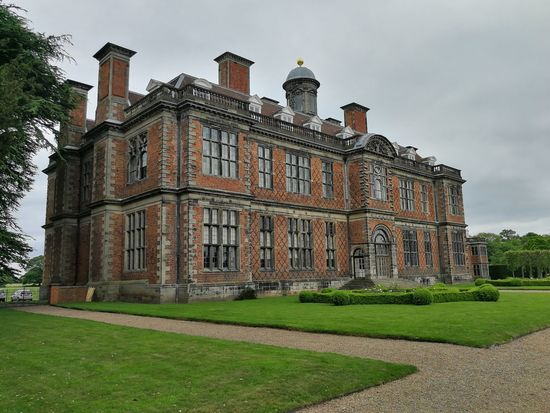 Building Exterior Grass Sky Architecture Stately Home Sudbury Hall  National Trust The Architect - 2017 EyeEm Awards
