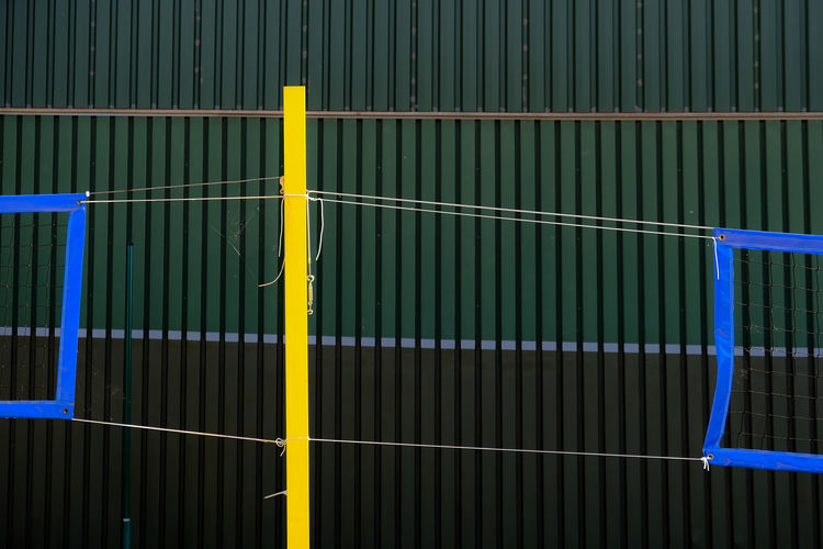Simple Blue Close-up Fresh On Eyeem  FUJIFILM X-T2 Full Frame Green Color Metal Metallic Multi Colored Net Netz No People Pattern Simple The Color Of Sport The Week On EyeEm Volleyball Yellow TakeoverContrast Kale Minimalist Architecture Art Is Everywhere Paint The Town Yellow The Graphic City