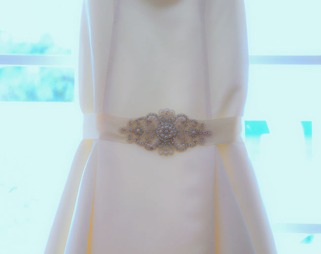 Wedding Dress Beautiful Family Getting Married Getting Ready Wedding White Wedding Dress Beautiful Dress  Close-up Front View Getting Ready For Wedding Happy Day Midsection Pearl Wedding Ceremony Wedding Dress Wedding Dress Belt White White Background
