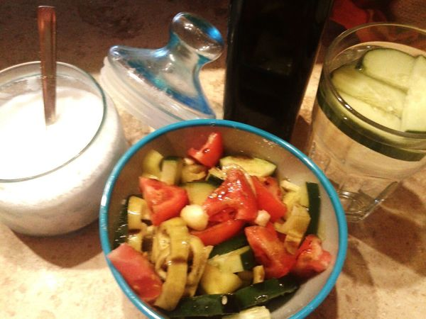 Tasty Salad Vegetables Dinner