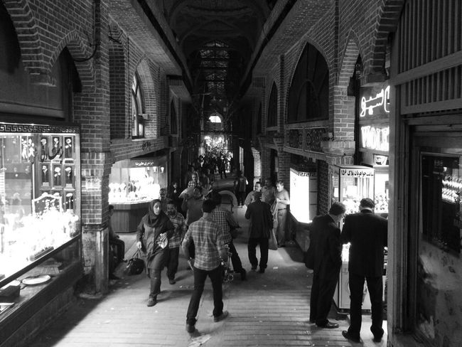 ::: Tehran, Iran Grand Bazaar Blackandwhite Streetphotography Streetphoto_bw Street Photography Showcase March