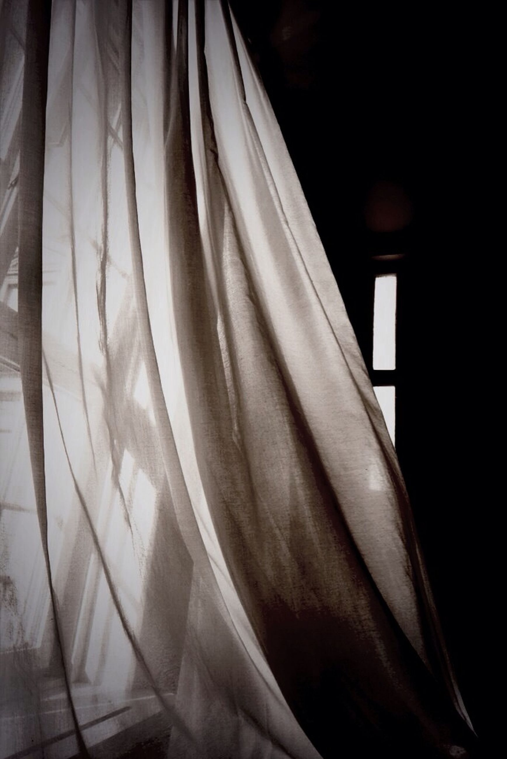 indoors, curtain, textile, fabric, home interior, close-up, white color, still life, hanging, clothing, no people, window, white, paper, bedroom, domestic room, bed, sheet, day, book