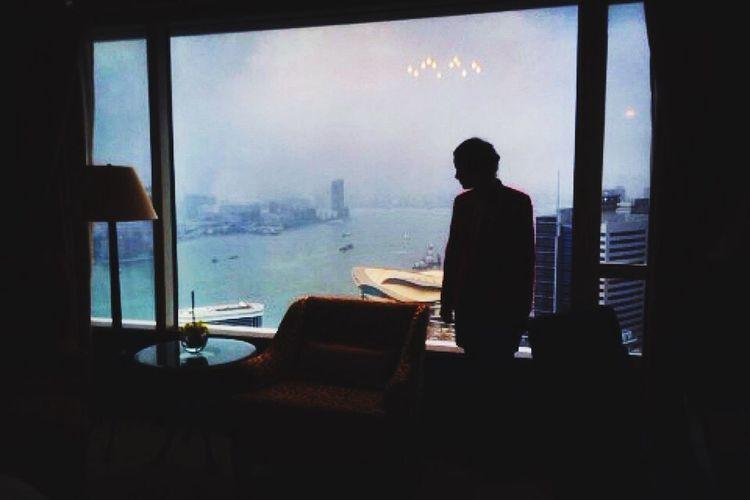 Bestfriend ♥ at the shangri la Hotel In Hong Kong 31st floor - room HongKong Shangrila Luxuryhotel Amazingview bestfriend
