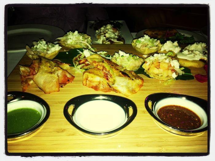 vayan al Incanto a probar los platillos mexicanos, especial de Septiembre!!!! deliciosos!!!!!!!!