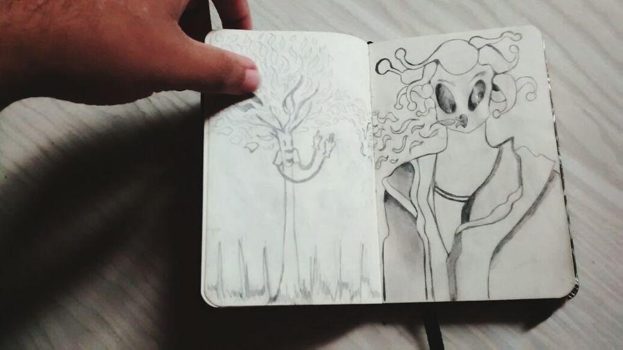 Sketchbook Drawing Autoral