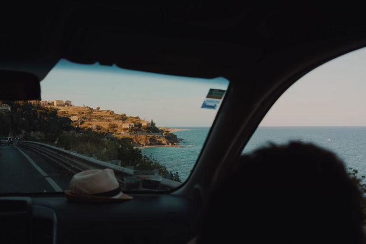 Paradiso Sea Seascape Sea And Sky Car Car Interior Island Folkgood Goodday Followme Vibes Sun Landscape Nature