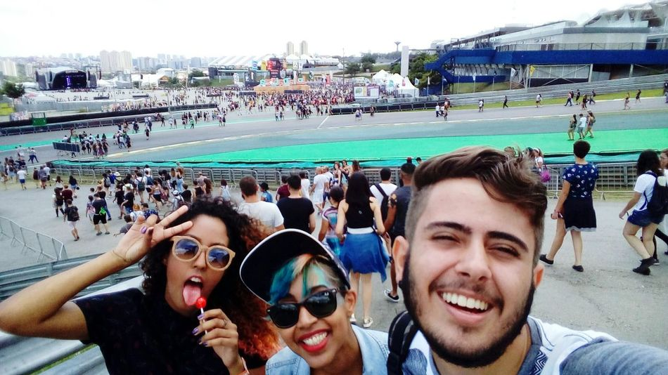 Lollapalooza Lollapaloozabr Young Adult Crowd Togetherness Lifestyles