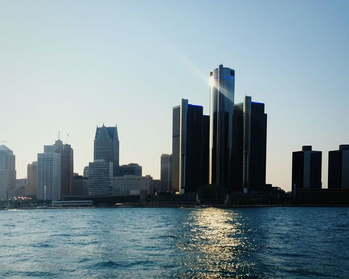 DetroitSkyLine Enjoying The View From My Point Of View Great View Detroitrockcity