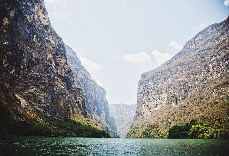 Cañón del sumidero Chiapas, México First Eyeem Photo