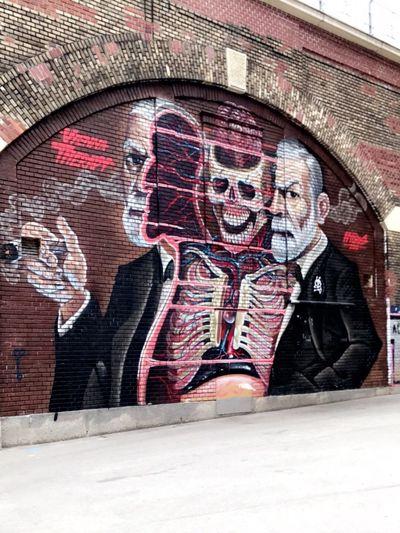 Human Representation Men Day Outdoors Architecture People Graffiti Graffiti Art Old-fashioned Sceleton Graffiti Wall Streetart Graffiti & Streetart EyeEmNewHere The Street Photographer - 2017 EyeEm Awards The Great Outdoors - 2017 EyeEm Awards