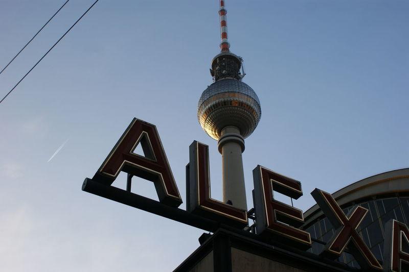 Alex Alexanderplatz Architecture Architektur Berlin Berlin Alexanderplatz Capital Cities  Famous Place Fernsehturm Fernsehturm / Tv Tower Fernsehturm Berlin