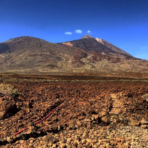 Tenerife Tiede Canaries Mountain Nature Landscape Beauty In Nature Mountain Range Outdoors No People Day Sky Clear Sky Arid Climate Tranquil Scene Scenics Tranquility