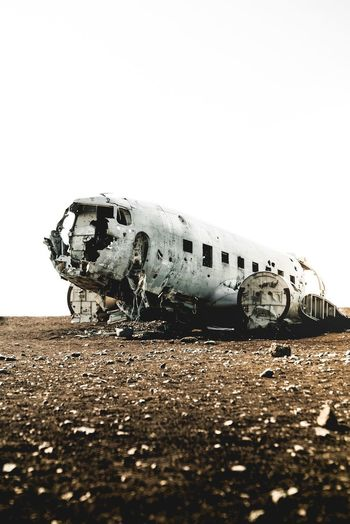 Wrecking plane Wrecking Plane Iceland Nature No People Day Air Vehicle Damaged Airplane History Accidents And Disasters Mode Of Transportation Transportation Abandoned Outdoors
