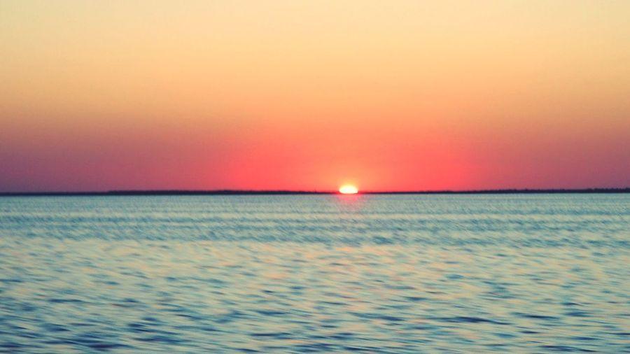Sunset on