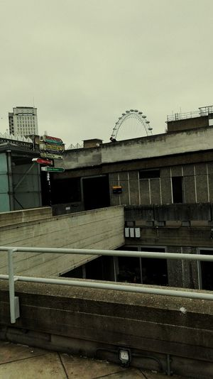 Built Structure Outdoors Building Exterior London LondonEye Brutalist Architecture Nationaltheatre Day City Sky Architecture Postcode Postcards EyeEmNewHere The Graphic City