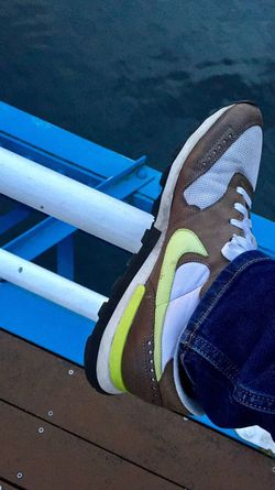 All you need is Air. One Person Real People Lifestyles Water Sneakers Footwear Trainer Eye4photography  Nike Air  Getty X EyeEm Bright Color Day Outdoors Men Low Section Person One Man Only People Shoeselfie EyeEm Masterclass Shoes EyeEm Gallery Shoe Game Nike EyeEm Best Shots