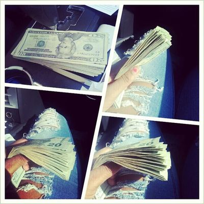 get money is all i know Small girl with a big payroll 