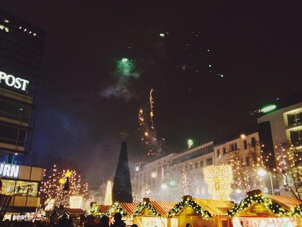 Streetphotography Fireworks Feuerwerk Christmas Market NYE2015 Silvester2015 ?