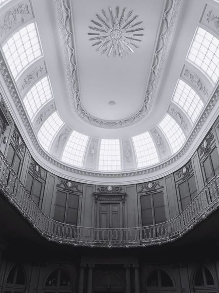 The Week On EyeEm Built Structure Low Angle View Dome Travel Destinations No People Indoors  Day Indoors  Reflection Low Angle View Building Interior Design Museum Kunstmuseum Arts Culture And Entertainment ArtWork Artistic Daylight