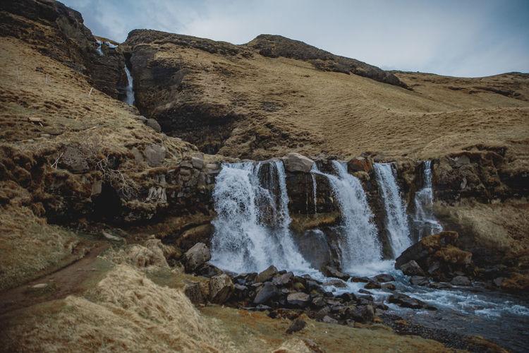 Gluggafoss Iceland Исландия Waterfall Nature Travel Family Travels