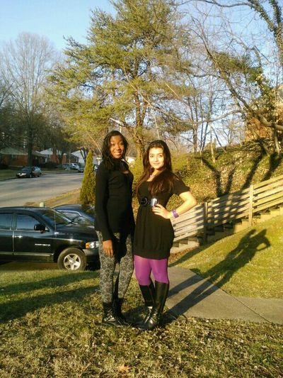 Me And My Beautiful Friend Zamira (: